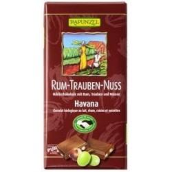 CHOCOLAT LAIT RHUM RAISIN 100 GRS