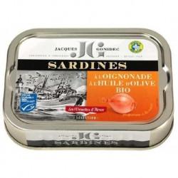 SARDINES HUILE OLIVE OIGNONADE 115G
