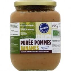 PURÉE DE POMMES BANANES 830 GRS
