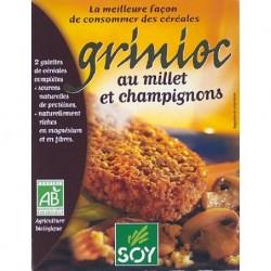 GRINIOC MILLET CHAMPIGNONS 2X100G CC