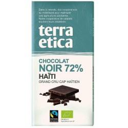 CHOCOLAT NOIR HAÏTI 72% 100GRS