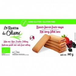 BISCUITS FOURRÉS AUX FRUITS ROUGES 160 GRS