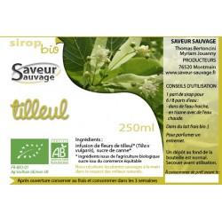 SIROP 25CL TILLEUL