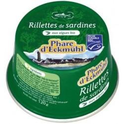 RILLETTES DE SARDINE AUX ALGUES 120G