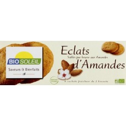 SABLÉS BEURRE AMANDES ÉCLATS 120 GRS
