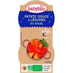 PATATE DOUCE LÉGUMES SOLEIL BOL 2X200G