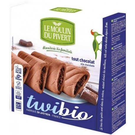 BISCUIT FOURRE TOUT CHOCOLAT TWIBIO 150G