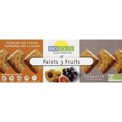 PALETS EPEAUTRE 3 FRUITS 165G