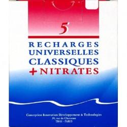 RECHARGES UNIVERS.CLASSIQUE+NITRATES (5)