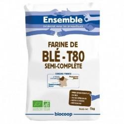 FARINE DE BLÉ T80 1KG
