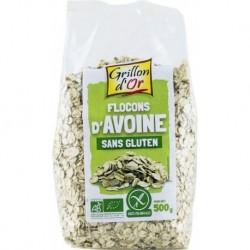 FLOCONS D'AVOINE SANS GLUTEN 500G