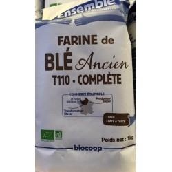 FARINE DE BLE ANCIEN T110 1KG