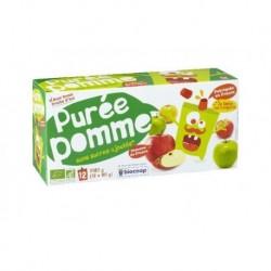 PURÉE DE POMMES 12 X 90 GRS
