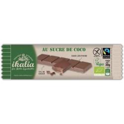 BARRE CHOCOLAT 70% SUCRE COCO 30G
