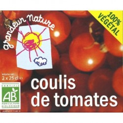 COULIS DE TOMATES 2X25CL