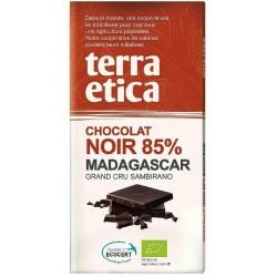 CHOCOLAT NOIR MADAGASCAR 85% 100GRS