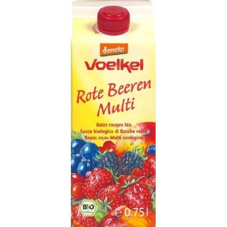 JUS FRUITS ROUGES MULTI TETRA 75CL