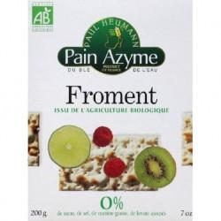 PAIN AZYME AU FROMENT 200G