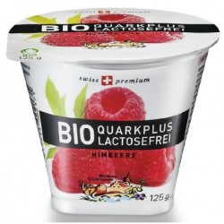 FROMAGE BLANC FRAMBOISE S/LACTOSE 125G