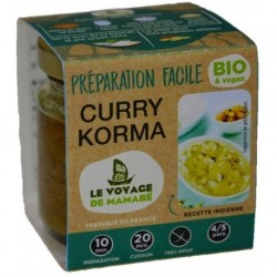 PREPARATION FACILE CURRY KORMA 80G