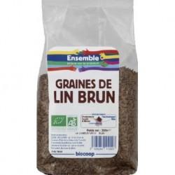 GRAINES DE LIN BRUN 250GRS