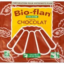 BIOFLAN CHOCOLAT SANS SUCRE 2X5GRS