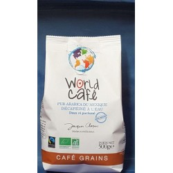 CAFE DECAFEINE MEXIQUE GRAINS 500G