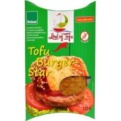 TOFU BURGER STAR 120G CC