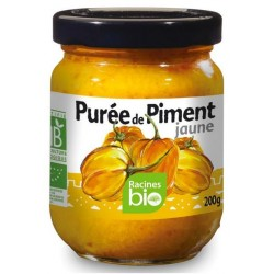 PUREE DE PIMENT JAUNE 200 GRS