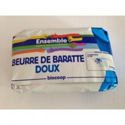 BEURRE DOUX DE BARATTE 250GRS