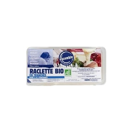 RACLETTE TRANCHES 25%MG 400G