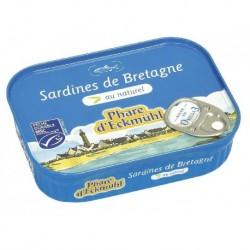 SARDINES AU NATUREL 95G