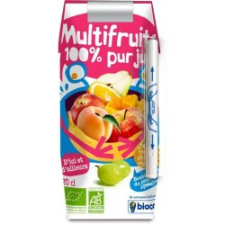 JUS MULTIFRUITS TÉTRA 20CL
