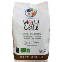 CAFÉ TRÉSOR DES ANDES 100% ARABICA 500G