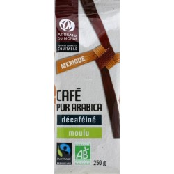 CAFE DECAFEINE DU MEXIQUE MH 250G