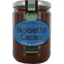 PÂTE A TARTINER NOISETTE CACAO 600G