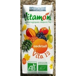 COCKTAIL 12 FRUITS TÉTRA 20CL