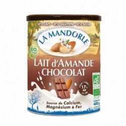 BOISSON AMANDE CHOCOLAT POUDRE 400G