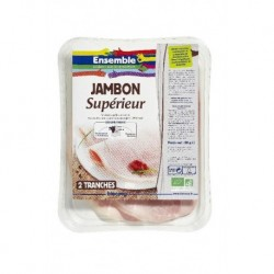 JAMBON SUPERIEUR 2 TRANCHES 80GRS