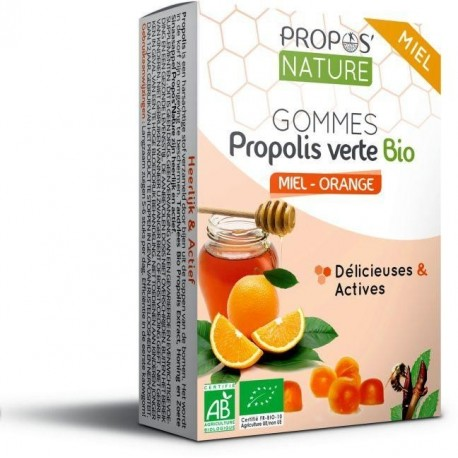 PROPOLIS MIEL ORANGE GOMMES 45G