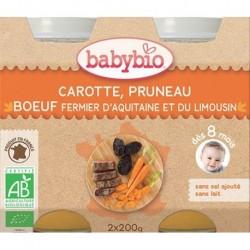 CAROTTE PRUNEAU BOEUF POT 2X200G