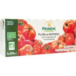 PURÉE DE TOMATES 7% 3 X 200GRS