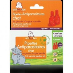 PIPETTES ANTIPARASITE CHAT (2 X 0.6ML)
