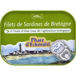 SARDINES FILETS HUILE OLIVE 70 GRS