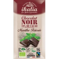 CHOCOLAT NOIR MENTHE POIVRÉE 70% 100G