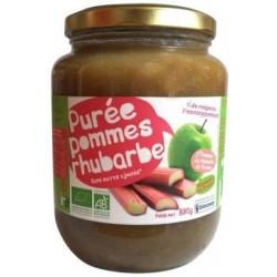 PURÉE DE POMME RHUBARBE 830 GRS