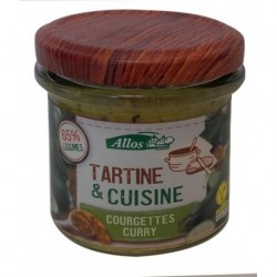 TARTINE CUISINE COURGETTE CURRY 135 GRS
