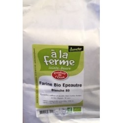 FARINE D'EPEAUTRE BLANCHE 2.5KG