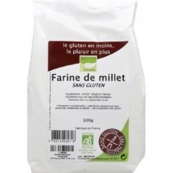 FARINE DE MILLET 500 GRS