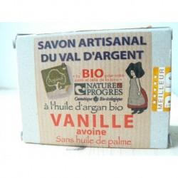 SAVON ARGAN VANILLE AVOINE 140G